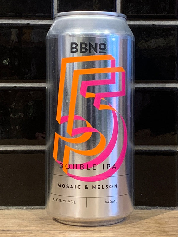Brew By Numbers Double IPA Mosaic & Nelson