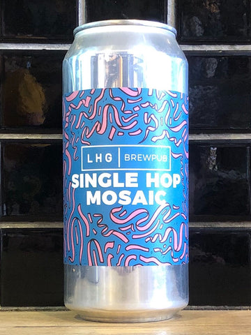 Left Handed Giant Single Hop Mosaic Pale