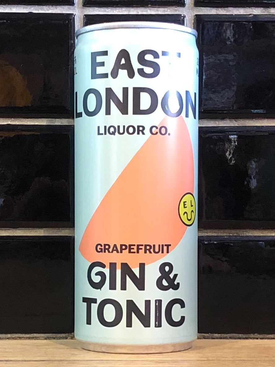 East London Liquor Company Grapefruit Gin & Tonic