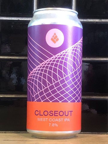 Drop Project Closeout West Coast IPA