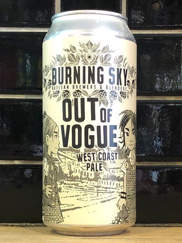 Burning Sky Out Of Vogue West Coast Pale Ale