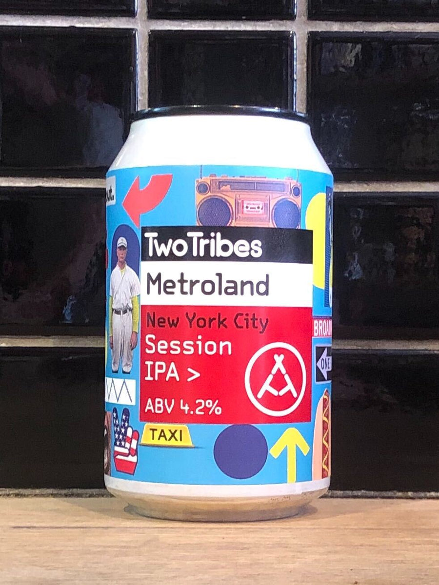 Two Tribes NYC Metroland Session IPA