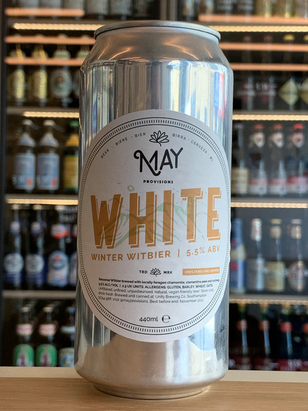 Unity May Provisions Winter Witbier