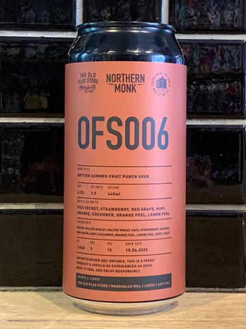Northern Monk OFS006 Fruit Sour