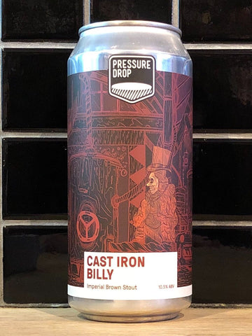 Pressure Drop Cast Iron Billy Imperial Brown Stout