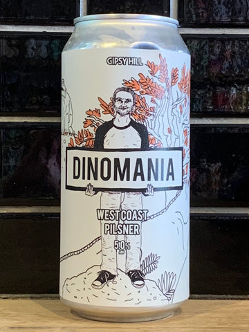 Gipsy Hill Dinomania West Coast Pilsner