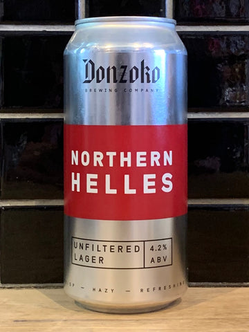 Donzoko Northern Helles Unfiltered Lager