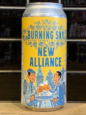 Burning Sky New Alliance Belgian Pale