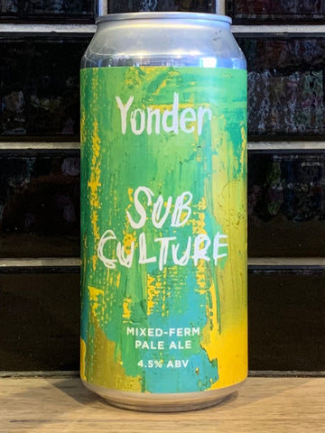 Yonder Subculture Mixed-Ferm Hazy Pale