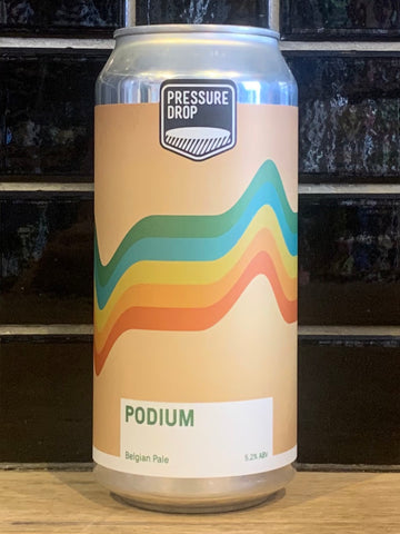 Pressure Drop Podium Pale
