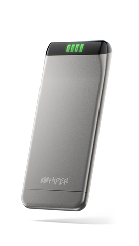 HIPER Power Bank SLS6300 Silver