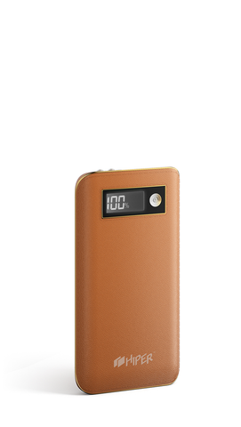 HIPER Power Bank XPX6500 Brown