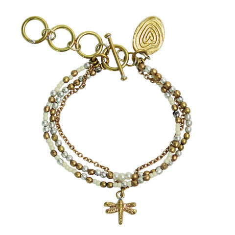 Pearl Dragonfly Bracelet (Limited Edition)