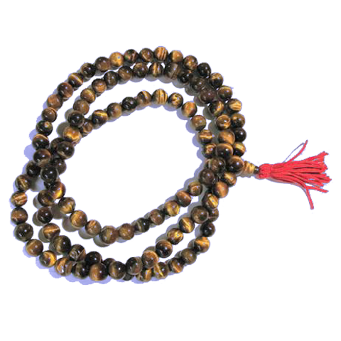 Full Tiger's Eye Mala