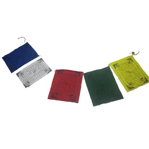 Medium Prayer Flags (String of 5)