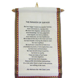 'Paradox of Our Age' Scroll