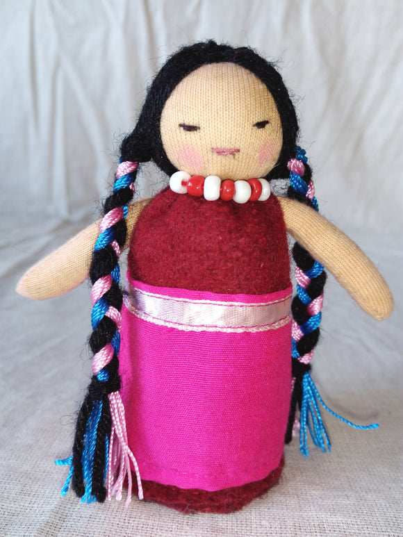 Tibetan Daughter Character Doll