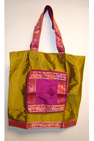Taffeta Folding Bag