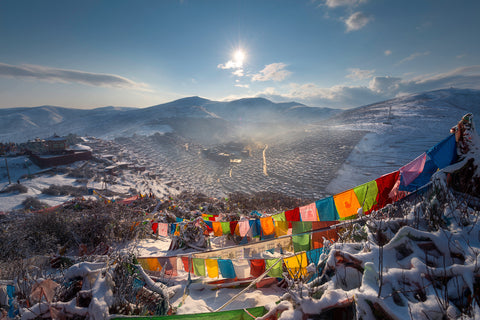Larung Gar Christmas Cards