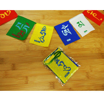 Mini Mantra Flags