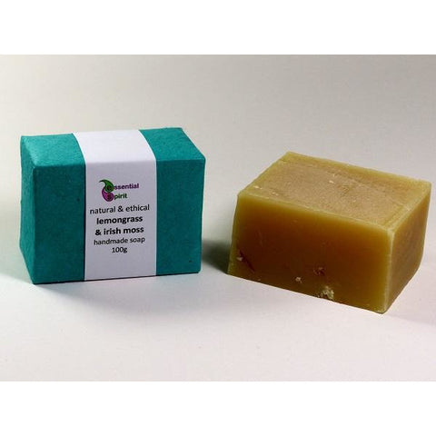 Lemongrass and Irish Moss Soap