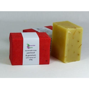 Patchouli and Geranium Soap