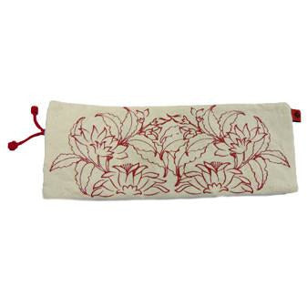 Red Flower Pouch