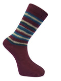Men's Organic Stripe Socks -  2 colours