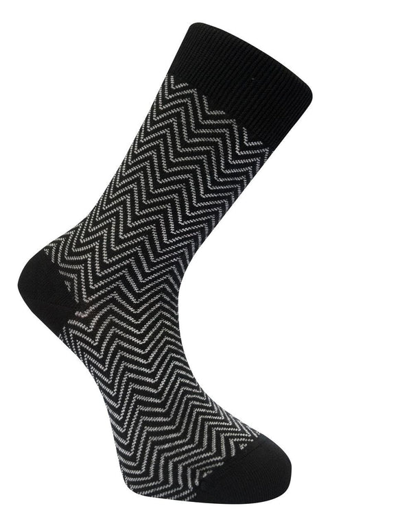Men's Organic Herringbone Socks - 2 colours