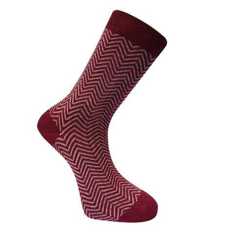 Women's Organic Herringbone Socks - 2 Colours