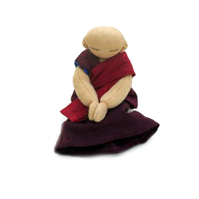 Mini monk dolls