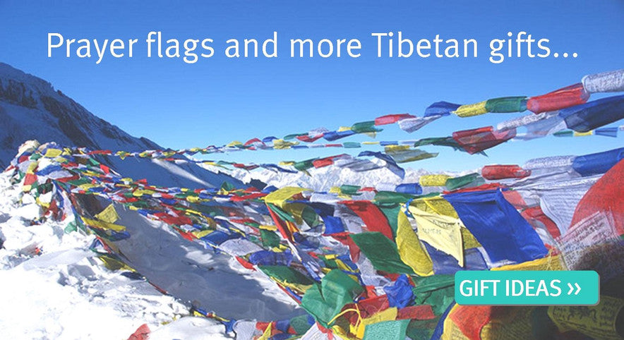 Prayer Flags and Tibetan Gifts