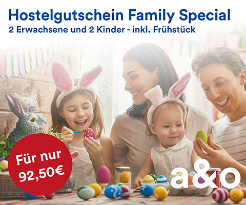 a&o Easter deal 2018 - Family special