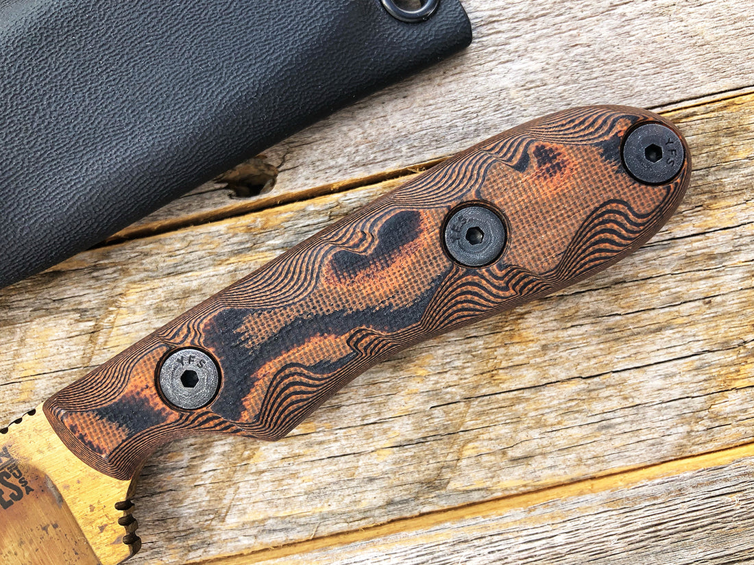 CPM-3V Field Guide | NEW Arizona Copper Finish