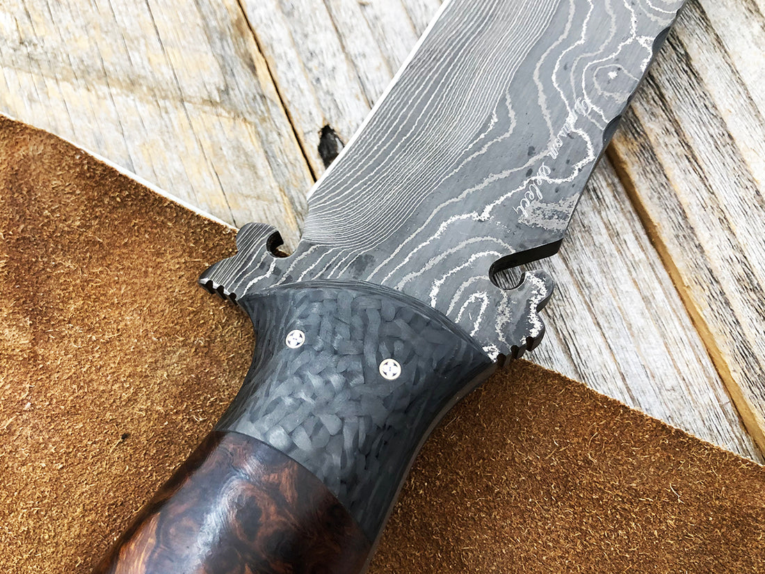 Select Bowie | Carbon Fiber Bolsters | Arizona Ironwood