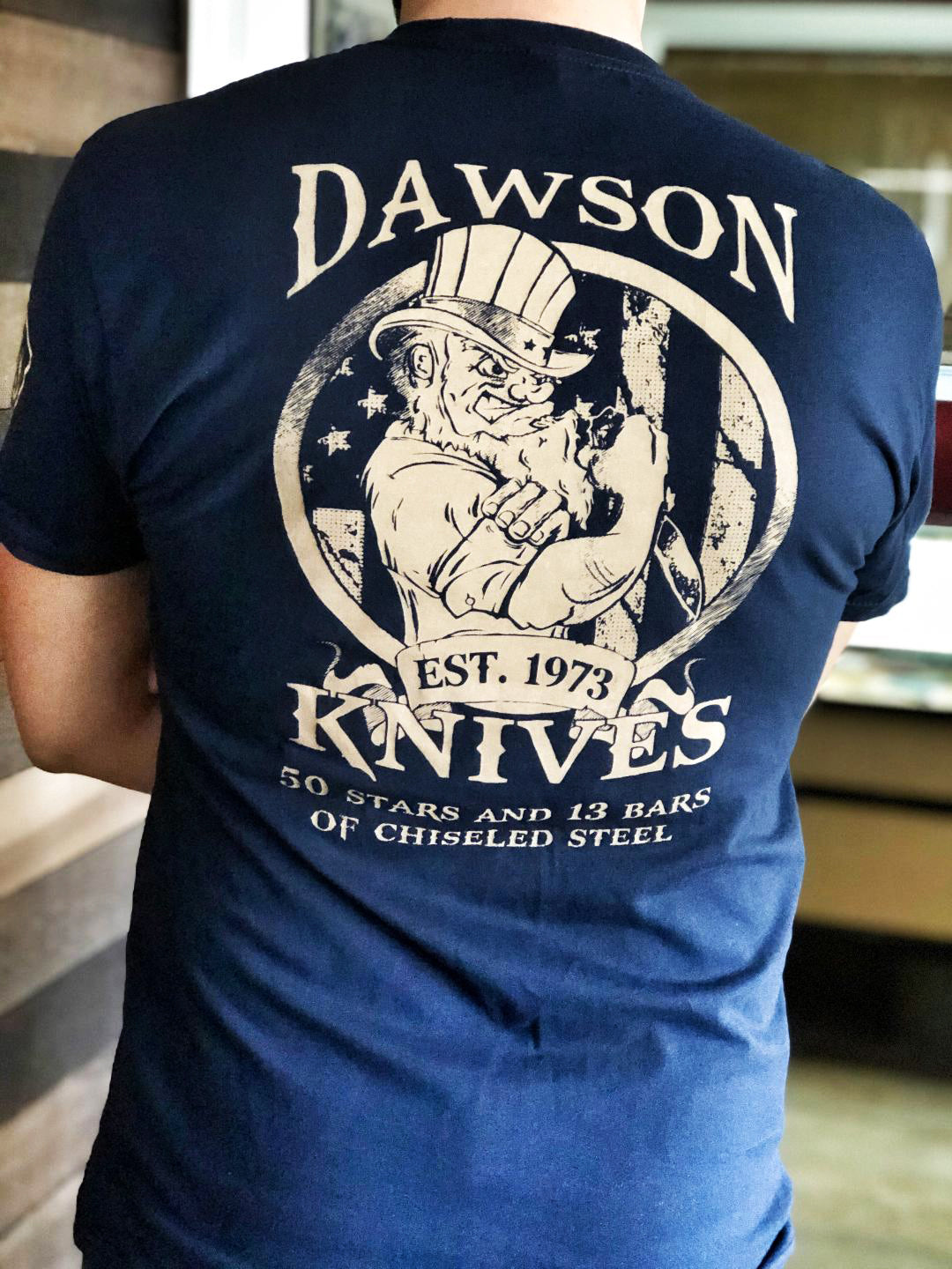 NEW! Dawson Knives Tee Shirt