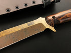 Mountain Man Bowie | CPM-3V Steel | Arizona Copper Finish
