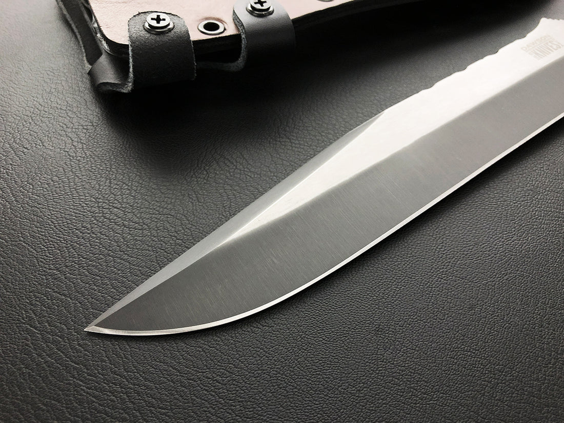 CPM-3V Mountain Man Bowie | Specter Finish