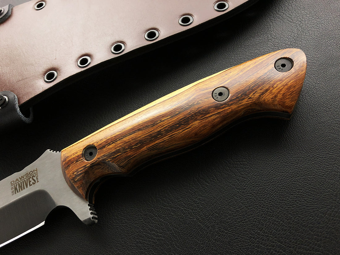 Mountain Man Bowie | CPM-3V Steel | Specter Finish