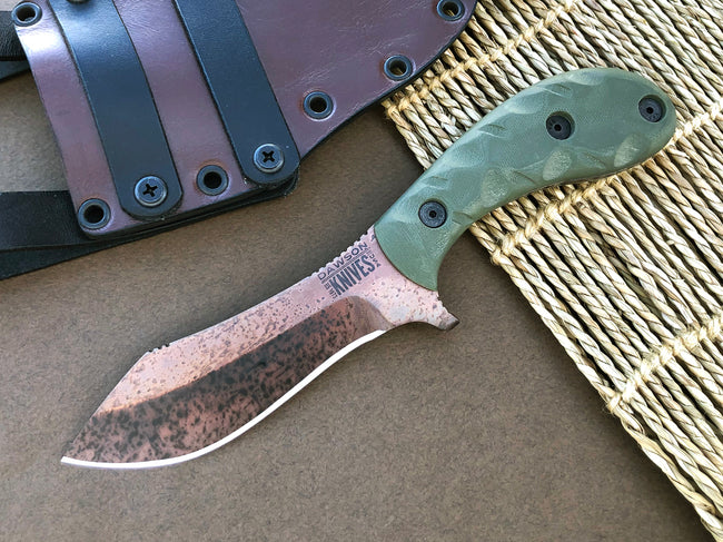 CPM-3V Nightspark | Arizona Copper Finish
