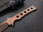Timberwolf | CPM-3V Steel | Arizona Copper Finish | Skeleton Handle
