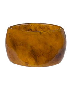 Tortoise Resin Wide Cuff