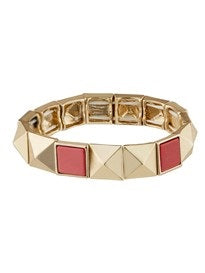 Pyramid Stretch Bracelet