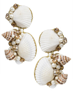 Double Shell Earrings