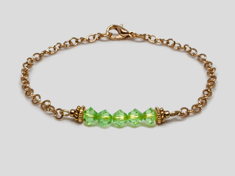 Birthstone Bracelet - August