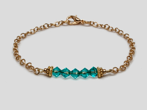 Birthstone Bracelet - December
