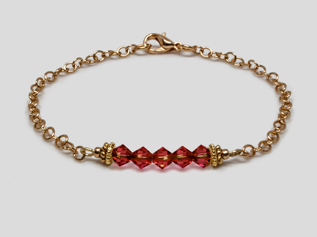 Birthstone Bracelet - January