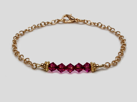 Birthstone Bracelet - July