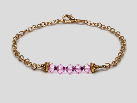Birthstone Bracelet - June