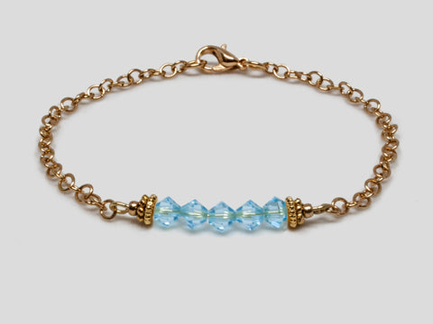 Birthstone Bracelet - March